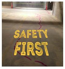 GPR Safety First