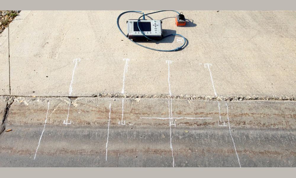 GPR Concrete Driveway