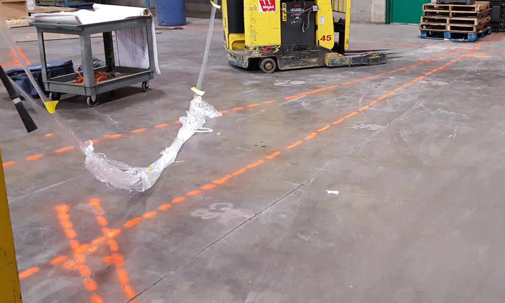 GPR Locates Conduits